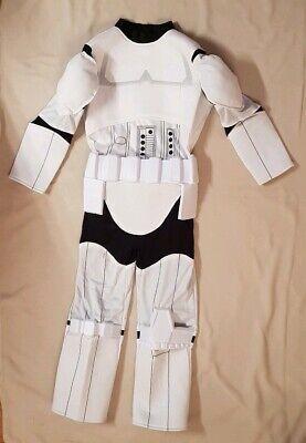 Sturmtruppler KinderKostüm Star Wars Stormtrooper Original Disney NEU Gr.128/134 ()