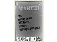 Wanted all Vehicles