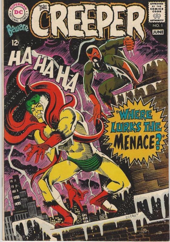 DC Comics Beware Of The Creeper Vol 1 (1968 Series) # 1 FN/VF 7.0