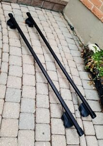 Thule roof rack crossbars for factory rails
