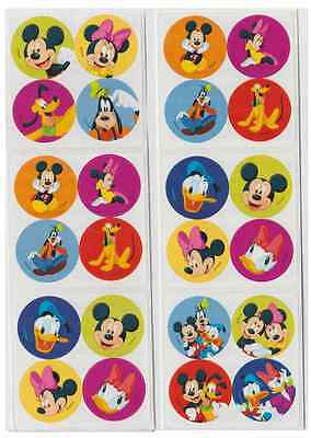 48 Mickey Mouse Disney Pals Mini Stickers, 1.2