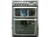 HOTPOINT ULTIMA GREY 60cm ELECTRIC COOKER, 4 MONTHS WARRANTY, FREE LOCAL DELIVERY