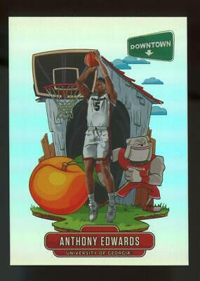 2020 Panini Collegiate Chronicles Downtown #D4 Anthony Edwards RC Rookie