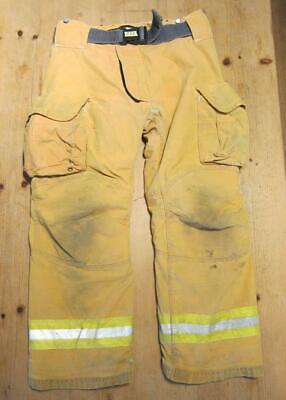 Lion Janesville Firefighter Fireman Turnout Gear Pants Size 36l - B Zz1