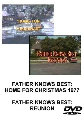 FATHER KNOWS BEST 1977 REUNION TV MOVIES DVD HOME FOR CHRISTMAS - $14.99
