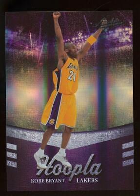 2010 Panini Absolute Memorbilia Hoopla #7 Kobe Bryant 3/100