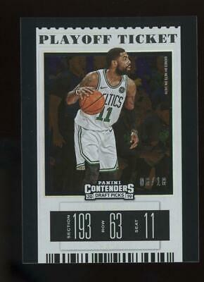 2019 Panini Contenders Playoff Ticket #34 Kyrie Irving 06/18