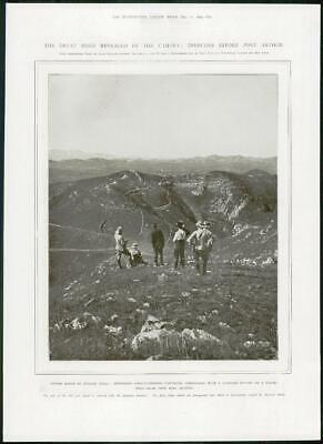 1904 Antique Print - PORT ARTHUR PHOTOGRAPH Newspaper Correspondent  (358)