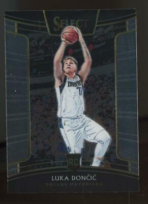 2018 Panini Select Concourse #25 Luka Doncic RC Rookie