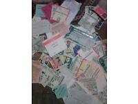 Football ticket stubs 60's to 90's ( lots of)