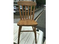 4 spindle kitchen chairs