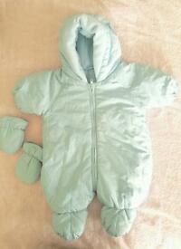 Snowsuit for baby boy