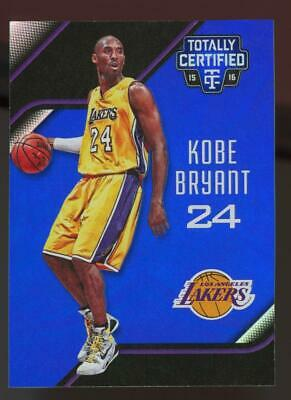 2015 Panini Totally Certified Blue #51 Kobe Bryant 42/99