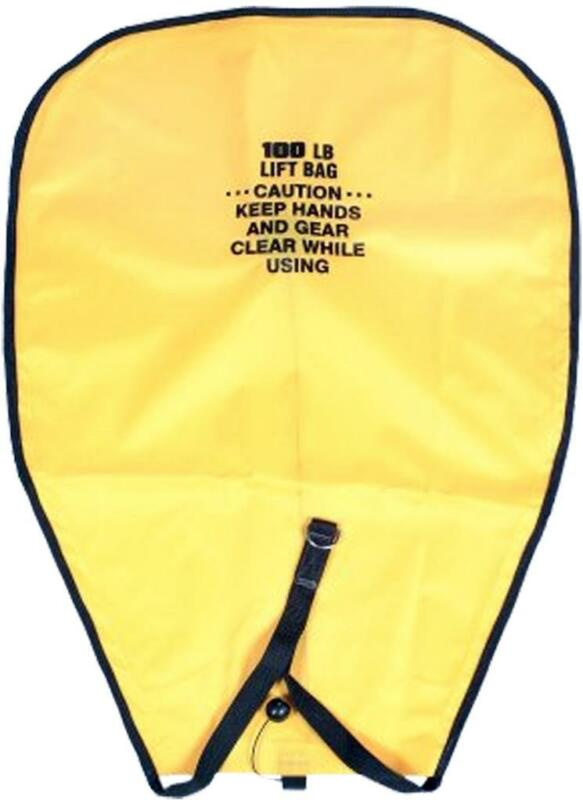 New 50lb. or 100lb. capacity scuba diving lift bag *Made in USA* Free ship!