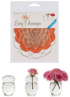 Easy Flower Arranger 3 PK for Vases. Just Shape, Arrange and you're Done !