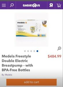 Medela freestylepump with bag and accesoriea