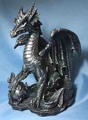 Dragon Statue Dragon Guarding Pearl Statue Sculpture Large New