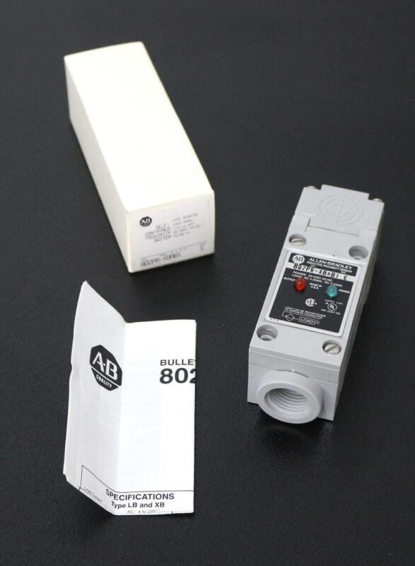 Allen-Bradley 802PR-XBAB1 Self-Contained Proximity Switch - New