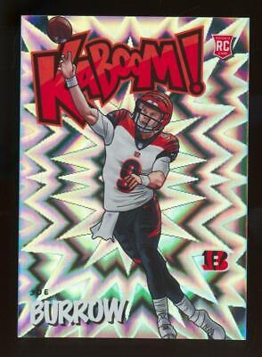 2020 Panini Absolute Kaboom! Joe Burrow RC Rookie SP Case Hit