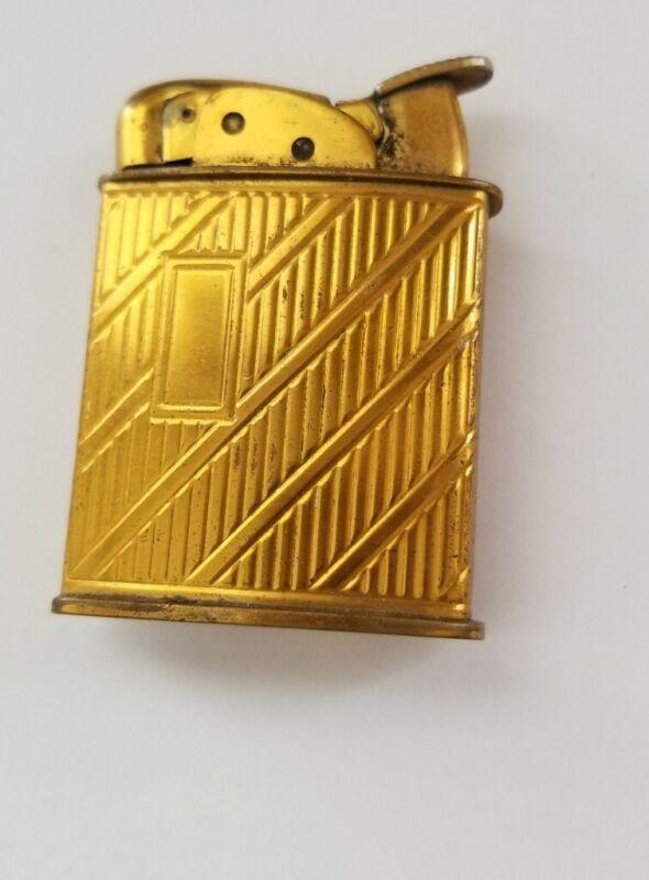 """Vntg Evans Goldtone Lighter 2"""""""