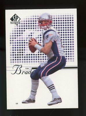 2002 Upper Deck SP Authentic #1 Tom Brady