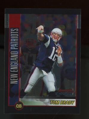 2002 Bowman Chrome #99 Tom Brady