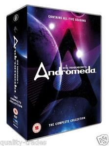 ❏ Andromeda Series 1 - 5 DVD Complete Seasons Collection + EXTRAs ❏ 1 2 3 4 5