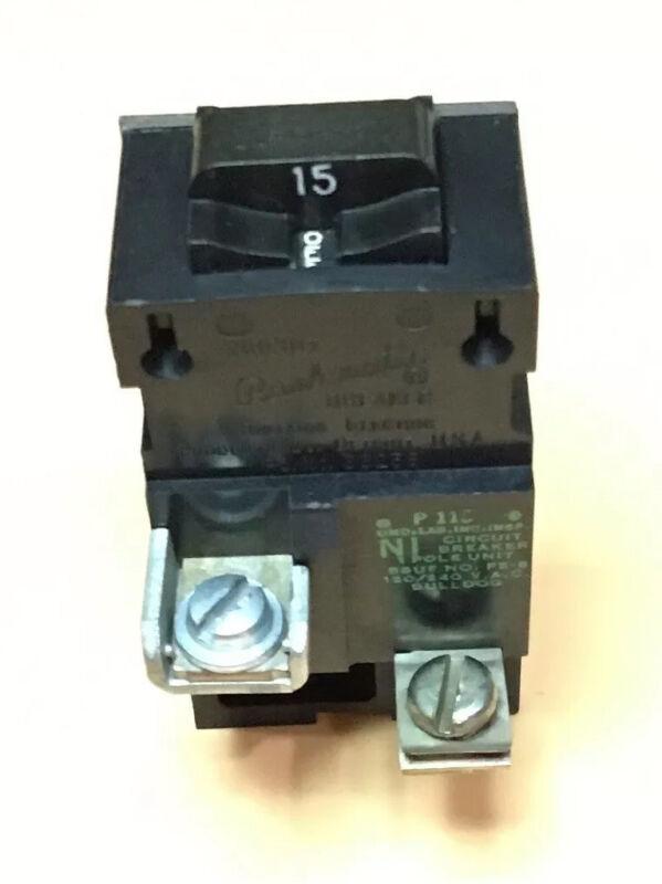 Circuit Breaker Bulldog Pushmatic P115 15 Amp 1 Pole