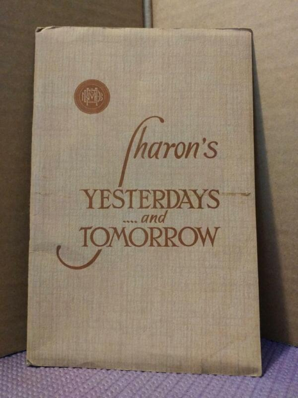 2095----1935 McDowell Bank history and photo book of Sharon PA