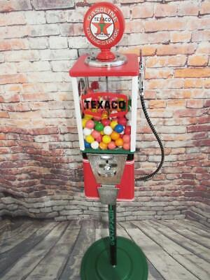 TEXACO PETROLEUM vintage candy machine gumball machine man cave gift home decor