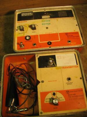 Metrotech Model 460 Pipe And Cable Underground Locator For Parts