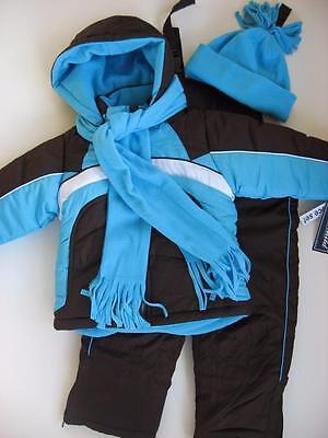 NWT Girls 4 5/6 6X Rothschild 4-Piece Snowsuit ski outfit $1