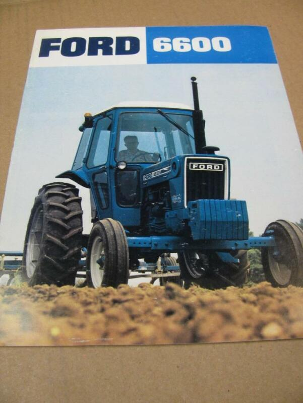Ford 6600 Tractor Sales Brochure