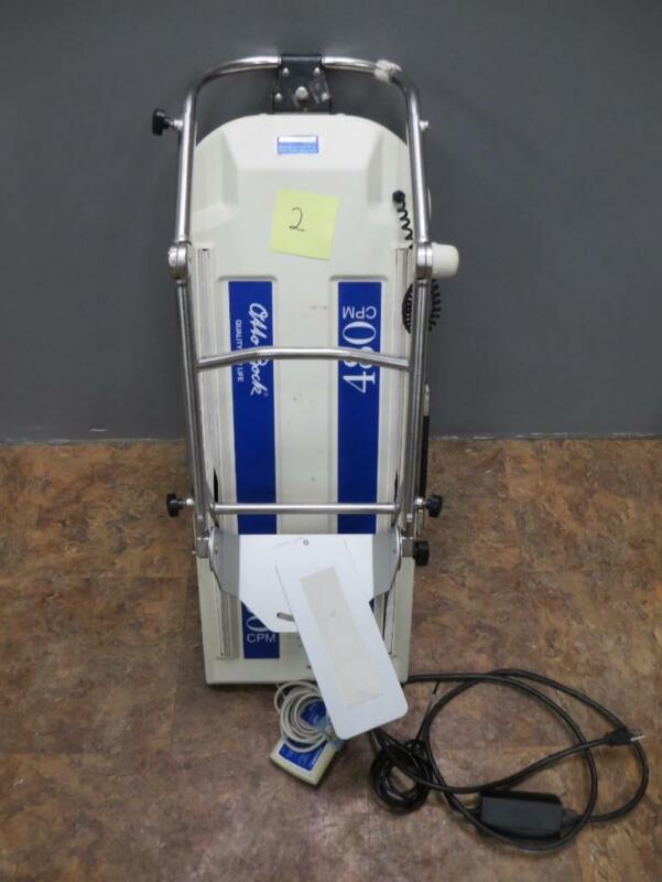 LOT OF 13 Otto Bock Healthcare 480/480E CPM Continuous Passive Motion System
