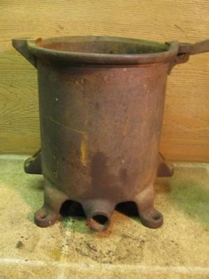Enterprise 8 Quart Sausage Stuffer Pot Lard Fruit Wine Juice Press