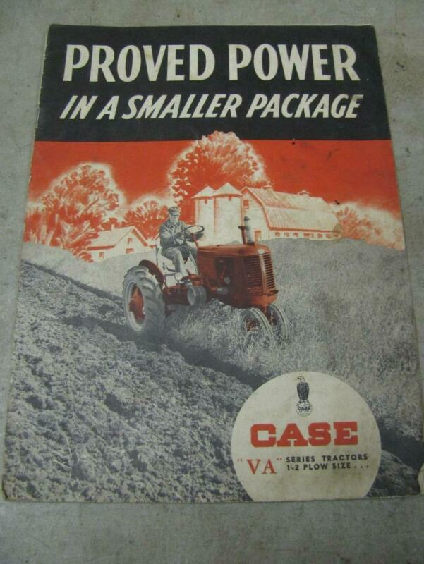 Case VA series Tractor Sales Brochure