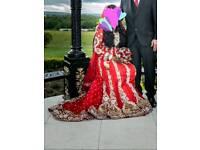 Pakistani/indian bridal wedding dress lehenga
