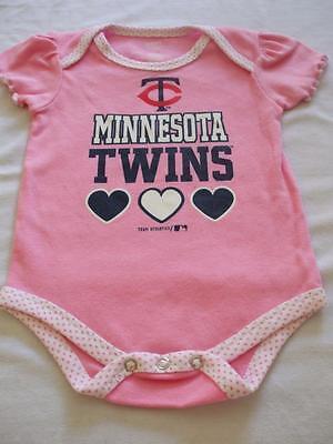 Minnesota Twins Girl Romper 12 mos Creeper Onesie Halloween Costume NWOT