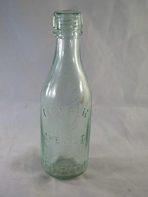VICTORIAN APOTHECARY BOTTLE Cowper Chemist Penrith Made by KILNER BROTHERS