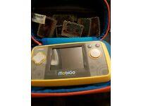 V-tech mobigo console and games