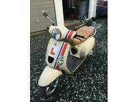 50cc Italian style scooter