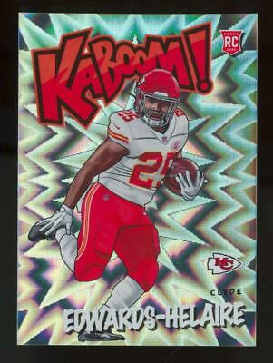 2020 Panini Absolute Kaboom! Clyde Edwards-Helaire RC Rookie SP Case Hit