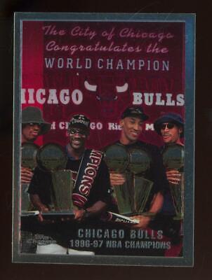 1998 Topps Chrome #51 Chicago Bulls