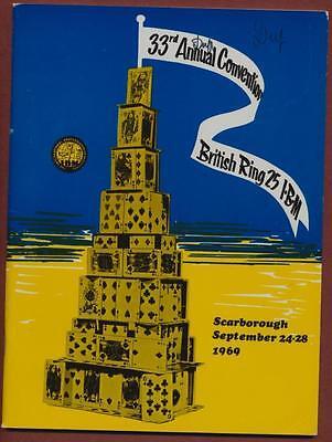 International Brotherhood Magicians. 1969 Scarborough convention Magic  yc.15