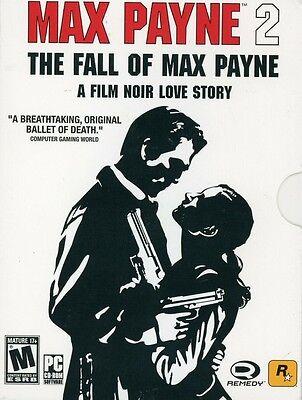 Computer Games - Max Payne 2 The Fall of Max Payne PC Games Windows 10 8 7 XP Computer rockstar