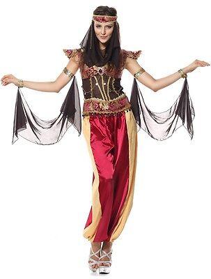 Damen Sexy Arabisch Bauchtänzerin Ägyptische Welt Kostüm Kleid - Ägyptische Tänzerinnen Kostüme