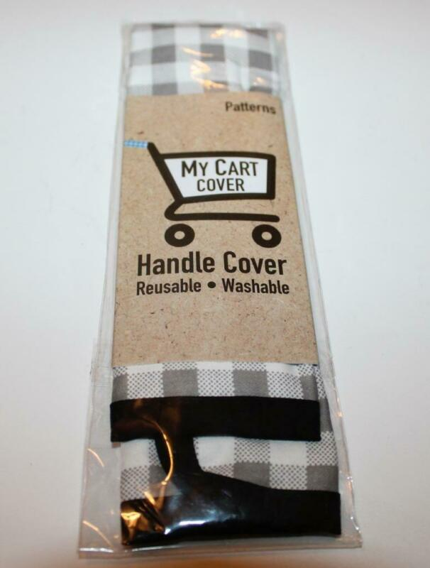 New Zorbitz My Cart Cover Shopping Cart Handle Cover Gray PLAID