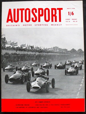 THE AUTOSPORT MAGAZINE 2 MAY 1958 - POST-VINTAGE THOROUGHBRED TESTED