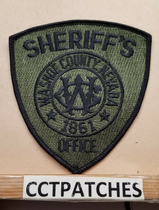 WASHOE COUNTY, NEVADA SHERIFF SUBDUED (POLICE) SHOULDER PATCH NV