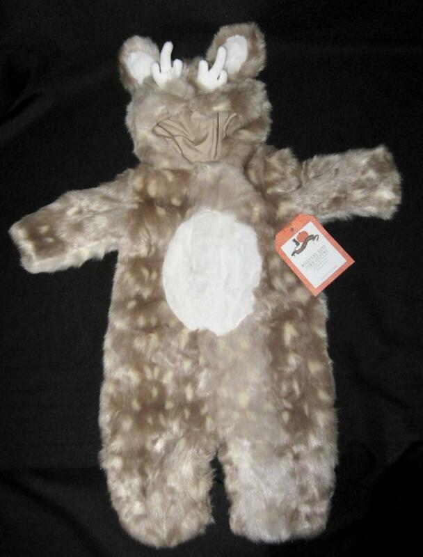 NWT Pottery Barn Kids WOODLAND BABY FAWN Halloween Costume 0-6 Months ~Adorable!
